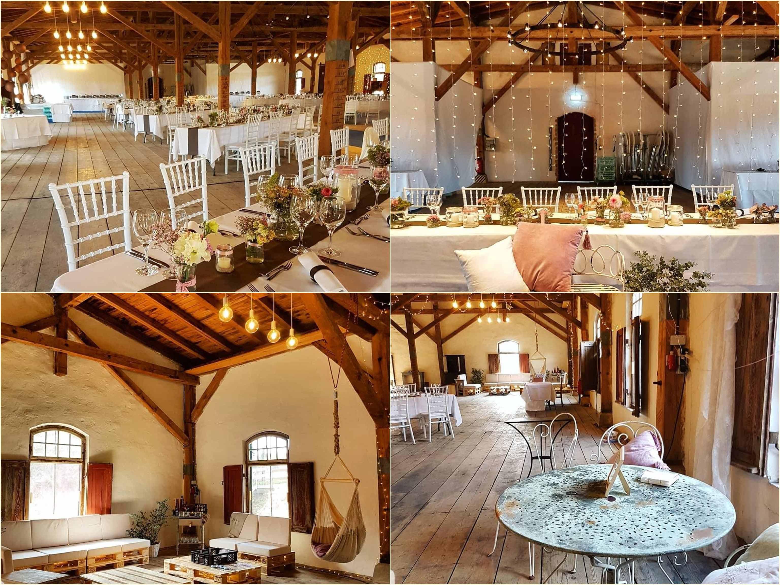 Getreidespeicher Hochzeit Albgut